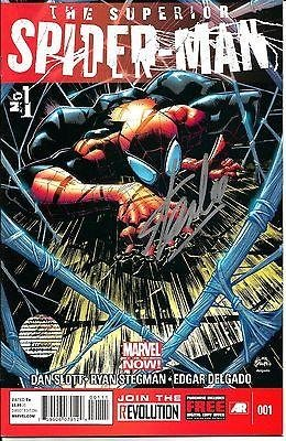 Stan Lee Signed Marvel The Superior Spiderman #1Comic W/ Stan Lee Holo