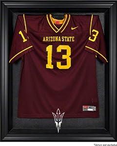 Arizona State Sun Devils Framed Logo Jersey Display Case by Mounted Memories