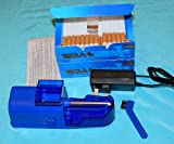 Electric Cigarette Making Machine - Tobacco Injector +200 RIZLA Filter Tubes