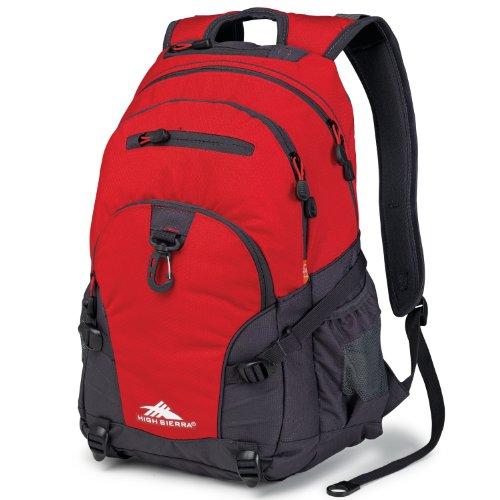 High Sierra Loop Backpack, Red