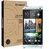 Arbalest® pour HTC ONE Ecran 4.7 Pouces (M7) 2013 Prime Film de Protection écran en Verre Trempé Inrayable et Anti Glare,Crystal Clear 9H dureté avec Oleophobic revêtement et HD de transmission optique