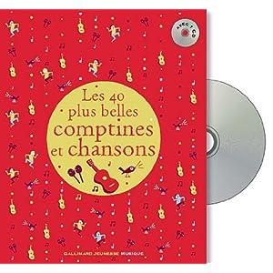 Les 40 plus belles comptines et chansons