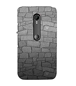 99Sublimation Rough Stone Graphics 3D Hard Polycarbonate Back Case Cover for Motorola Moto G3 :: G 3rd Gen :: G Gen 3 :: G Dual SIM 3rd Gen :: G3 Dual SIM