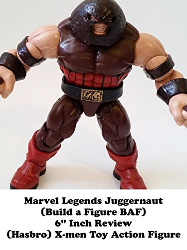 Review: Marvel Legends Juggernaut (Build a Figure BAF) 6