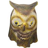 Signstek Horror Scary Owl Head Mask for Halloween Cosplay Costume Party