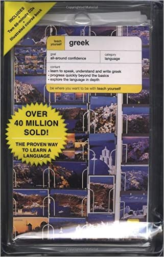 Teach Yourself Greek Complete Course Package (Book + 2CDs) (TY: Complete Courses)
