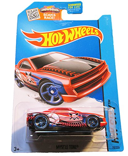 Hot Wheels, 2015 HW City, Muscle Tone [Red] Die-Cast Vehicle #70/250 - 1
