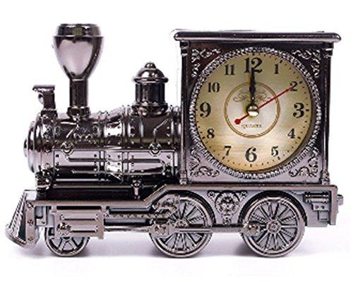 Amaranteen - Creative Train Digital Desk Table Alarm Clock Novelty Home