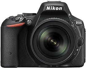 Nikon D5500 Appareils photo numérique Reflex 24.78 Mpix Kit Boîtier + Objectif 18-105 Noir
