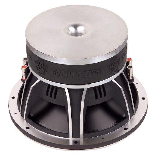 Ground Zero GZUW 250SQ 25 cm Sound Quality Subwoofer,