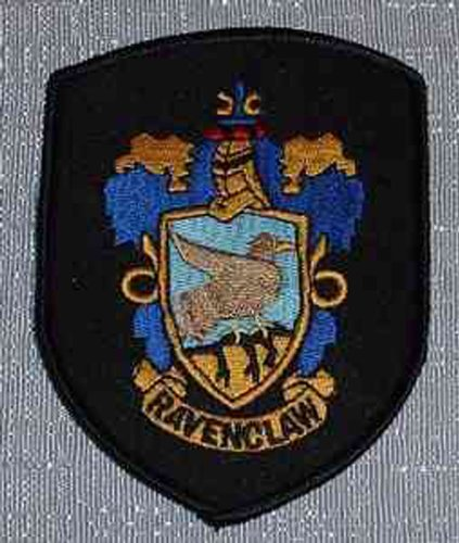 HARRY POTTER House of RAVENCLAW Robe Logo PATCH