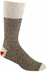 Medium Brown Tweed Original Rockford Red Heel Socks