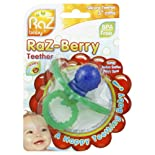 Razbaby Teether, Silicone, 3+ Months 1 teether