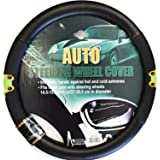 "Frog Pattern Steering Wheel Cover 14.5"" to 15.5"""