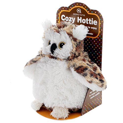 Aroma Home Aromahome Cozy Hottie Wise Owl Aromatherapy Lavender Tummy Insert Plush Animal