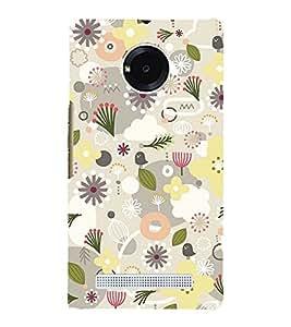 Flower Pond Pink 3D Hard Polycarbonate Designer Back Case Cover for YU Yureka Plus