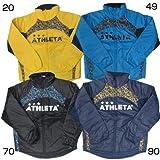[アスレタ]ATHLETA 中綿ウォーマージャケット 04096 Mサイズ ブラック