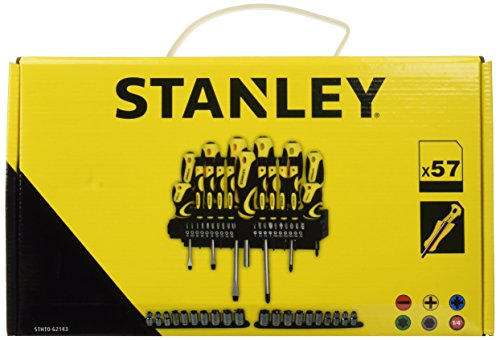 Stanley STHT0-62143 Set 57 pz giraviti e inserti e chiavi a bussola