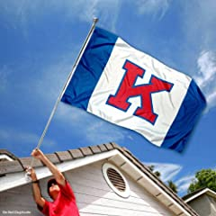 Buy Kansas Jayhawks Big K Flag by College Flags and Banners Co.
