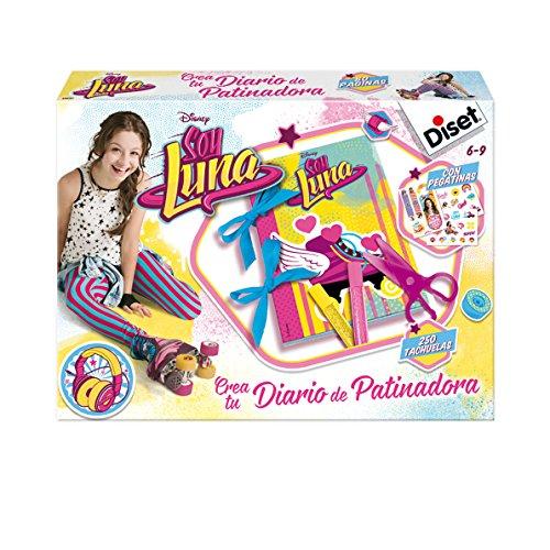 Soy Luna - Crea tu diario de patinadora, set creativo (Diset 46592)