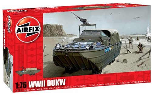 Airfix A02316 1:76 Scale DUKW Military Vehicles Classic Kit Series 2 - 1
