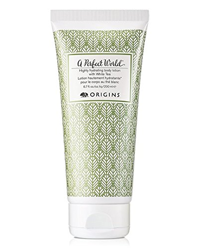 Origins A Perfect World Highly Hydrating Body Lotion with White Tea, 6.7 fl oz - 1
