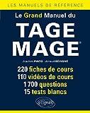 Le Grand Manuel du Tage Mage® 220 Fiches de Cours 110 Vidéos de Cours 1700 Questions 15 Tests Blancs...