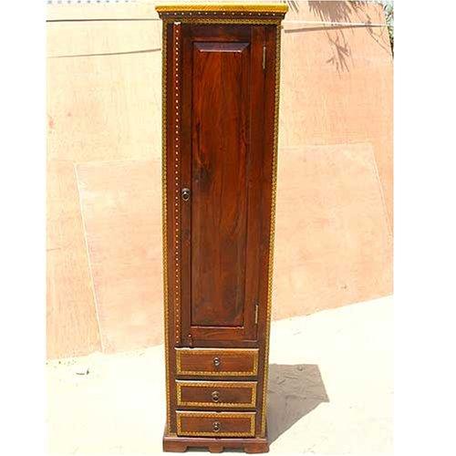 Wood Corner Kitchen Stand Storage Cabinet Shelf Unit