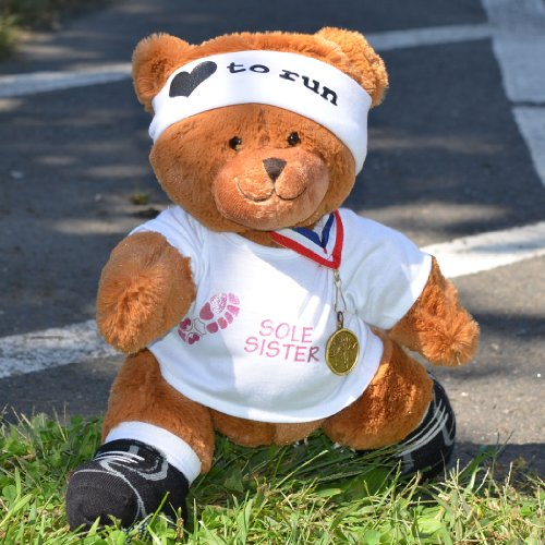 Sole Sister Race Teddy Bear - Runners Stuffed