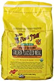 Bobs Red Mill Organic Golden Flaxseed Meal, 32-Ounce Packages (Pack of 4)