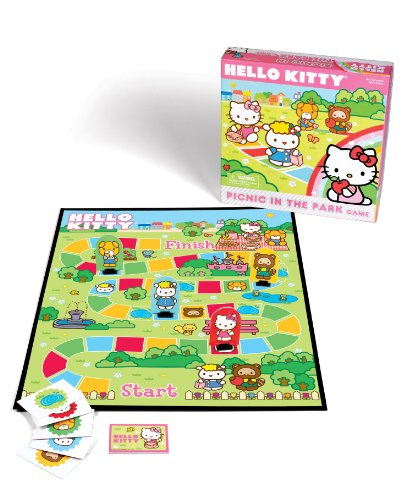 Hello Kitty Picnic in the Park Game