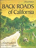 Back Roads of California: Sketches and Trip Notes by Earl Thollander (A Sunset Pictorial) (037605011X) by Earl Thollander