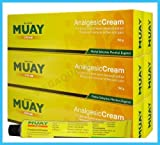 Namman Muay Thai Boxing Cream Analgesic Balm Liniment Muscle Pain Relief 3 X100 Made in Thailand