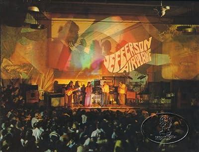 Jefferson Airplane 1967 Tour Concert Program Book Programme