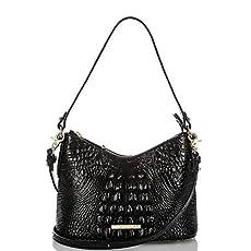 Alexa Hobo Bag<br>Black Melbourne