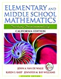 Elementary & Middle School Mathematics with MyEducationLab & enVisionMATH California Ed & Field Experience Guide (7th Edition)