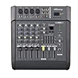 Webetop MX 402D 4 Channel 16 DSP Professional Audio Mixer with USB Display Screen