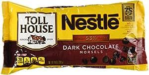 Nestle Toll House, Dark Chocolate Morsels, 10 Oz (283 G)