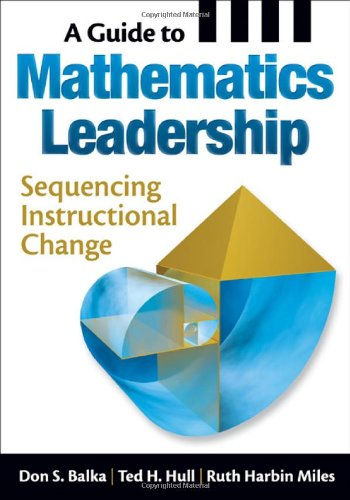 A Guide to Mathematics Leadership: Sequencing...