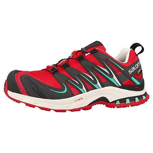 SalomonXA PRO 3D GTX - Scarpe da Trail Running Donna , Rosso (rosso), 41 1/3