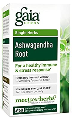 Gaia Herbs Ashwagandha Root