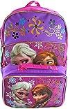 """Disney Frozen 16"""" Backpack School Bag…"""