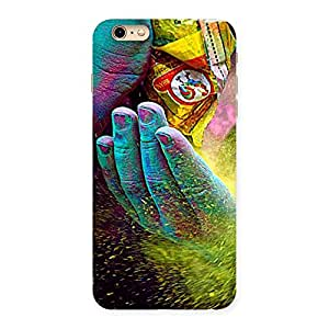 Special Hands and Colors Back Case Cover for iPhone 6 Plus 6S Plus