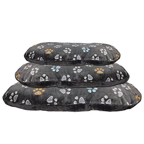 Hundekissen-80-x-50-cm-ber-10-cm-dick-kuscheliges-Hundekissen-mit-leicht-glnzendem-Plschbezug-Mit-Reiverschluss-Bezug-waschbar-30C-ideal-auch-fr-Weidenkrbe-oder-Kunststoffkorb