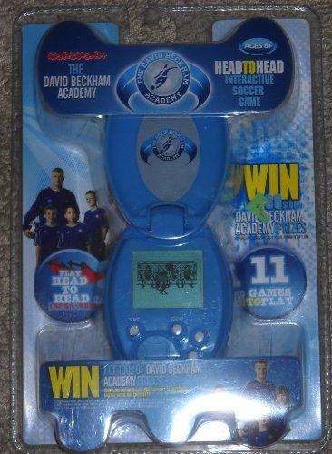 Match Master The David Beckham Academy Head-to-Head Interactive Soccer Game - Light Blue.