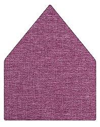 Tiekart Solid Microfibre Pocket Square (Ps319_Wine)