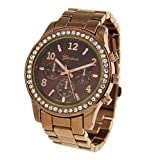 Crawford Boyfriend Watch-Chocolate