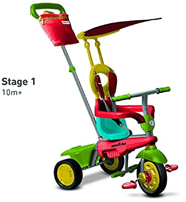 SmarTrike 4 in 1 Joy - Green/Red