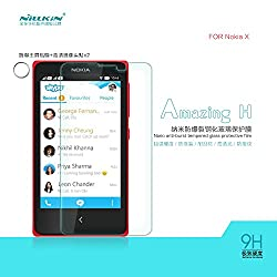 Nillkin Protective H Amazing 9H Nanometer Anti Explosion Tempered Glass Screen Guard Protector Film For Nokia X X+ Plus Dual Sim Android
