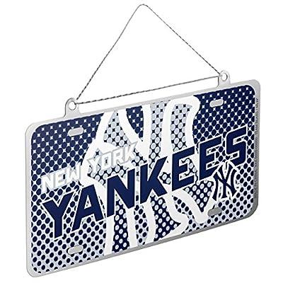 New York Yankees MLB 2015 Metal License Plate Ornament